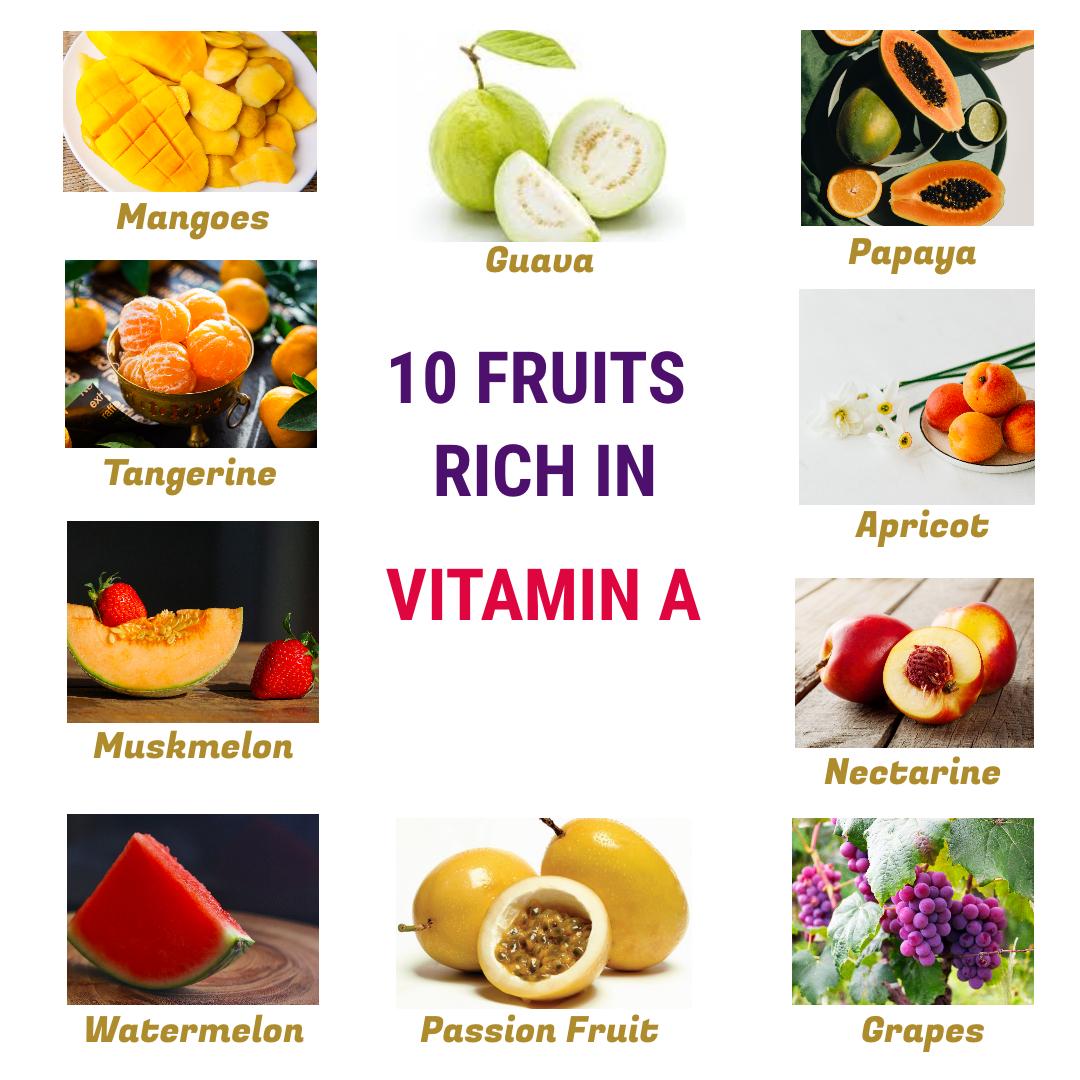 Vitamin A fruits